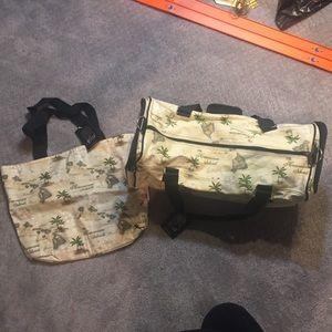 Handbags - Hawaii travel bags new with tags